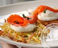 Закуска рыбно-картофельная