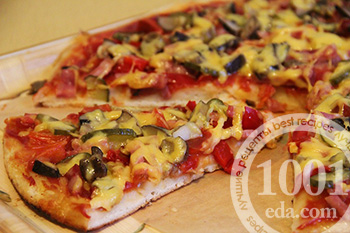 Рецепт теста на пиццу на майонезе