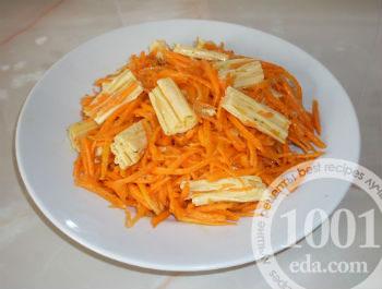Салат из соевой спаржи с морковью по-корейски к 8 марта