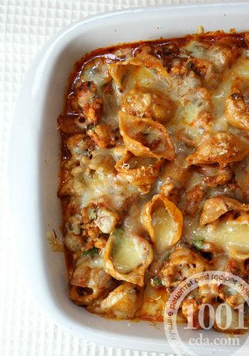 видео рецепт макароны с сыром в духовке