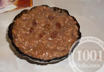 Шоколадная рисовая каша – кулинарный рецепт