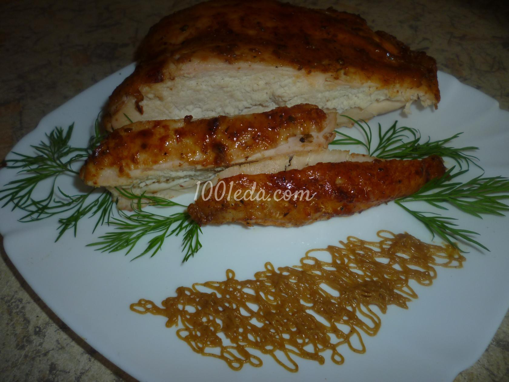 куриная грудка в духовке диетические рецепты с фото