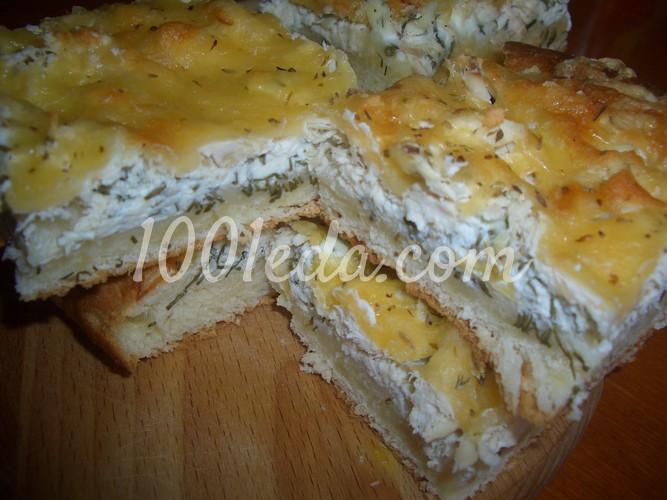 Открытый пирог рецепт с пошаговым фото