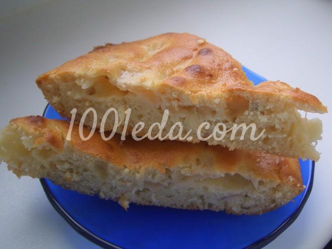 Медовая Шарлотка с яблоками: рецепт с пошаговым фото