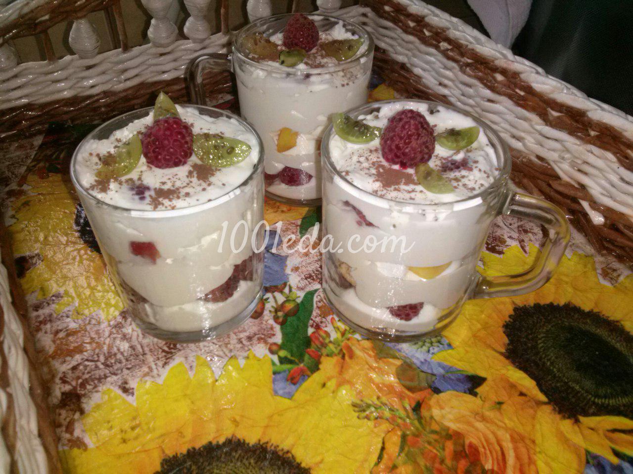 Десерт пошаговый рецепт с пошагово