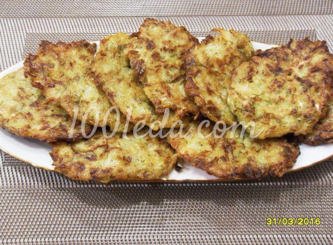 Печеночные оладьи с манкой рецепт с фото