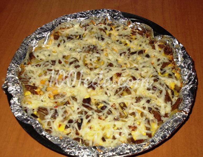 Запеканка с картофельным пюре и грибными ножками: рецепт с пошаговым фото