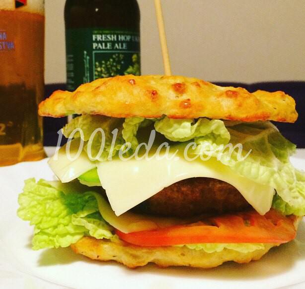 """Картофельный сэндвич """"Бульба-бургер"""": пошаговый с фото"""