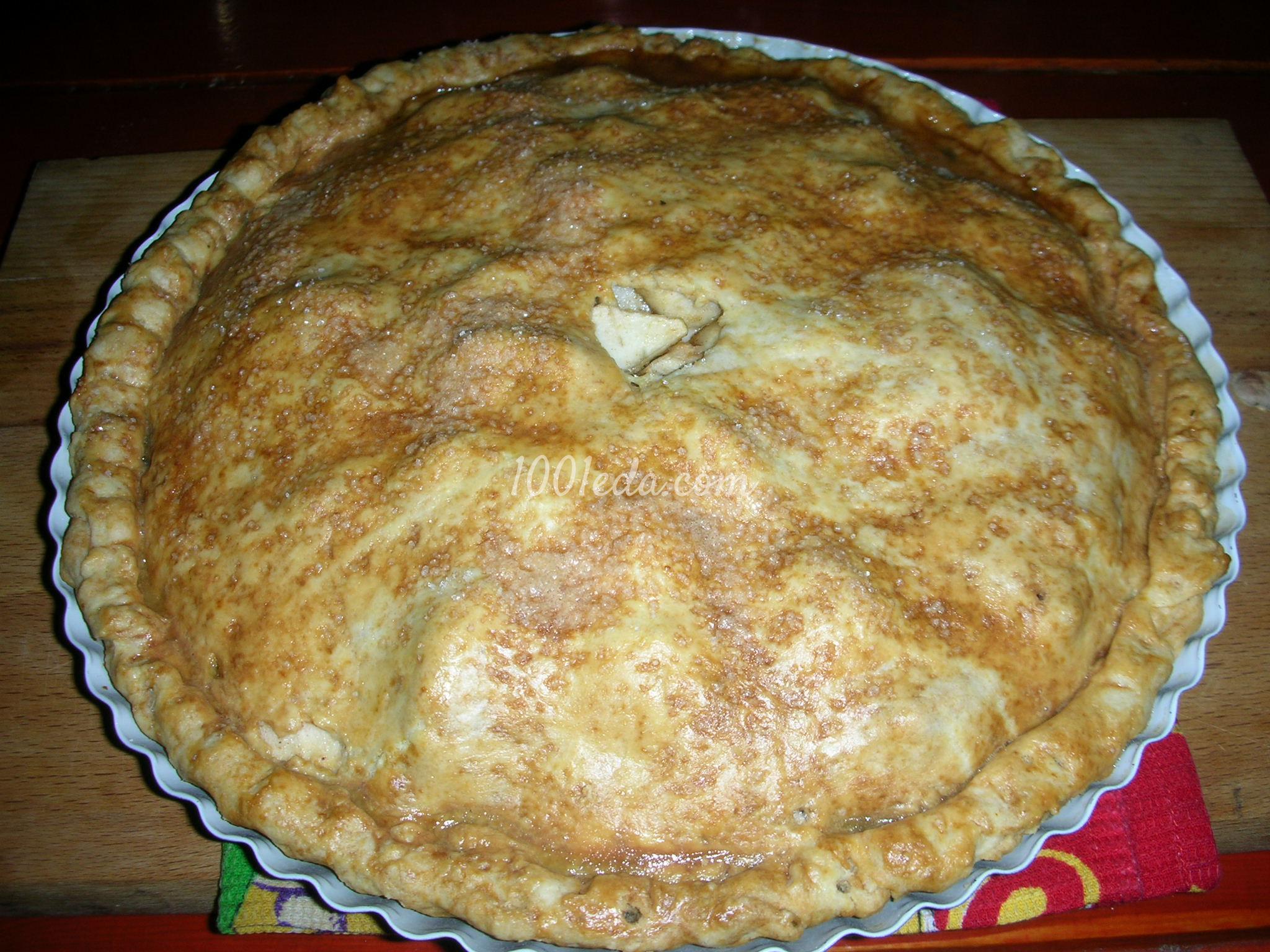 Пирога с яблоками рецепт пошагово с фото