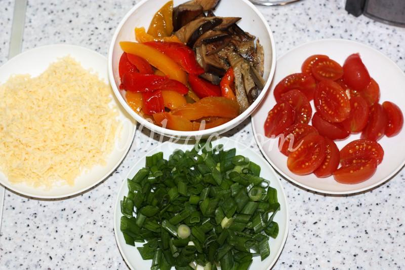 баклажаны с куриной грудкой в духовке рецепт