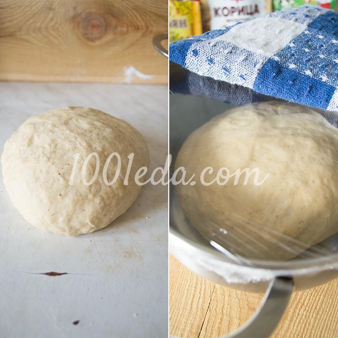 Ароматные пасхальные булочки кросс-банс: рецепт с пошаговым фото - Шаг №11