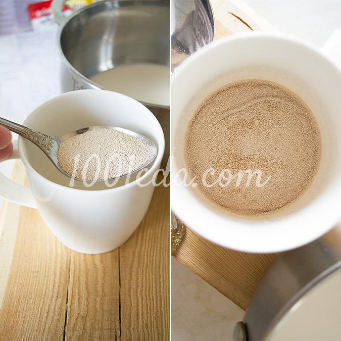 Ароматные пасхальные булочки кросс-банс: рецепт с пошаговым фото - Шаг №2