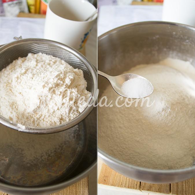 Ароматные пасхальные булочки кросс-банс: рецепт с пошаговым фото - Шаг №3