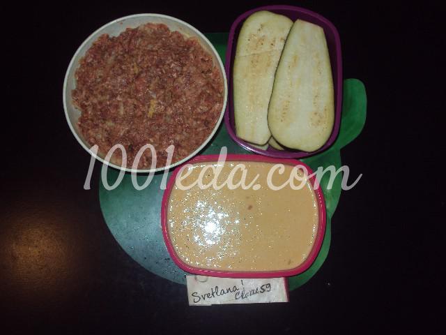 Баклажаны фаршированные на сковороде: пошаговое фото - Шаг №1