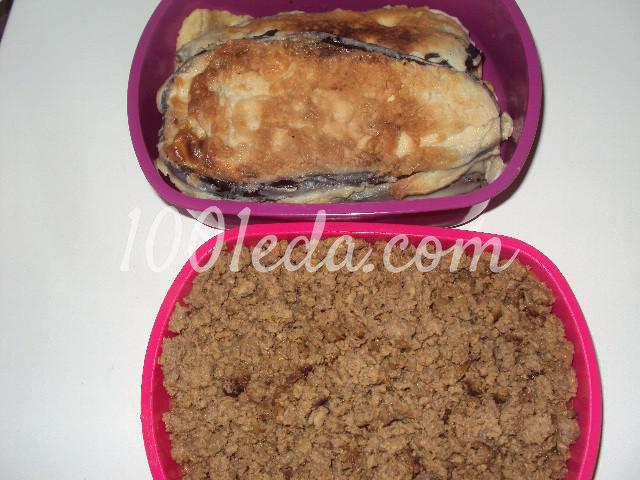 Баклажаны фаршированные на сковороде: пошаговое фото - Шаг №3