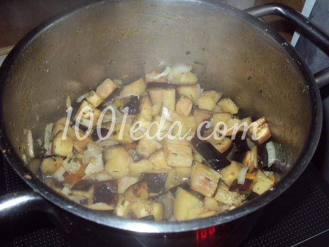 Баклажаны в сливочном соусе