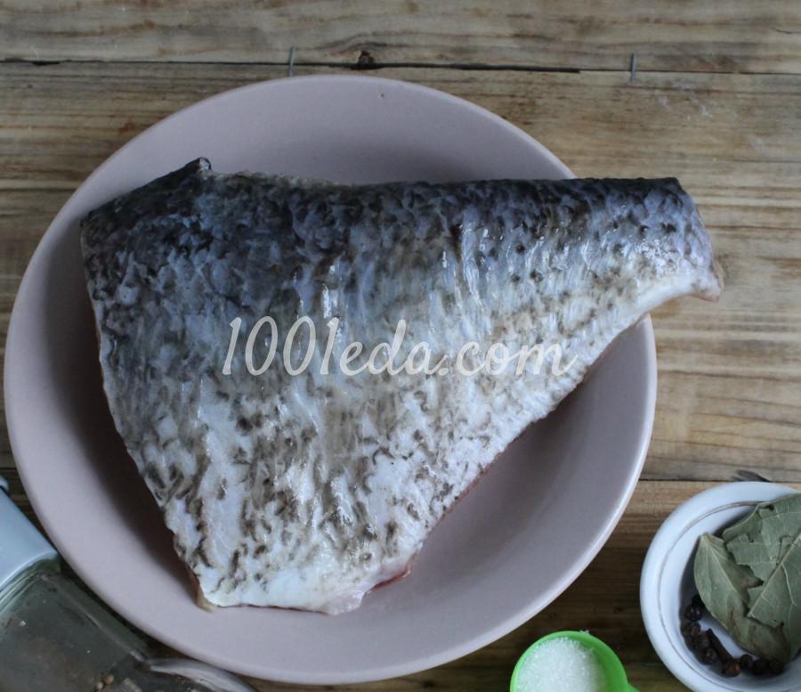 Балык рыбный из толстолобика: пошаговое фото - Шаг №1