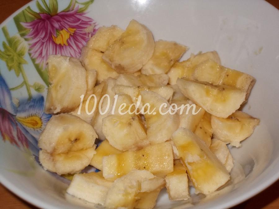 Банан со сливками (сметаной): пошаговое фото - Шаг №1