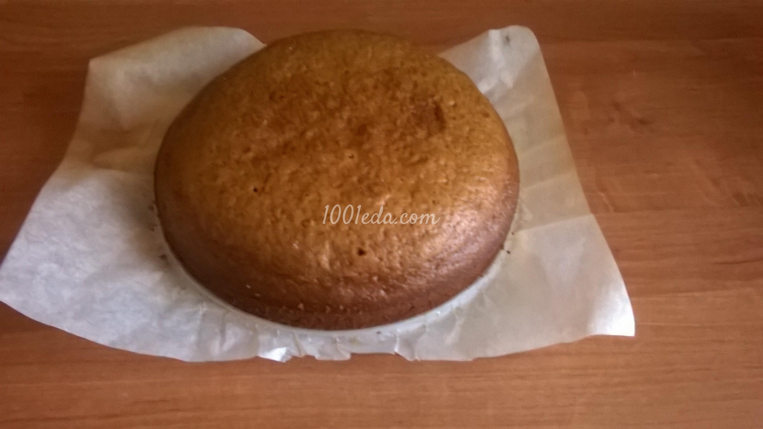 Сметанник рецепт пошагово на подстилке из печенья