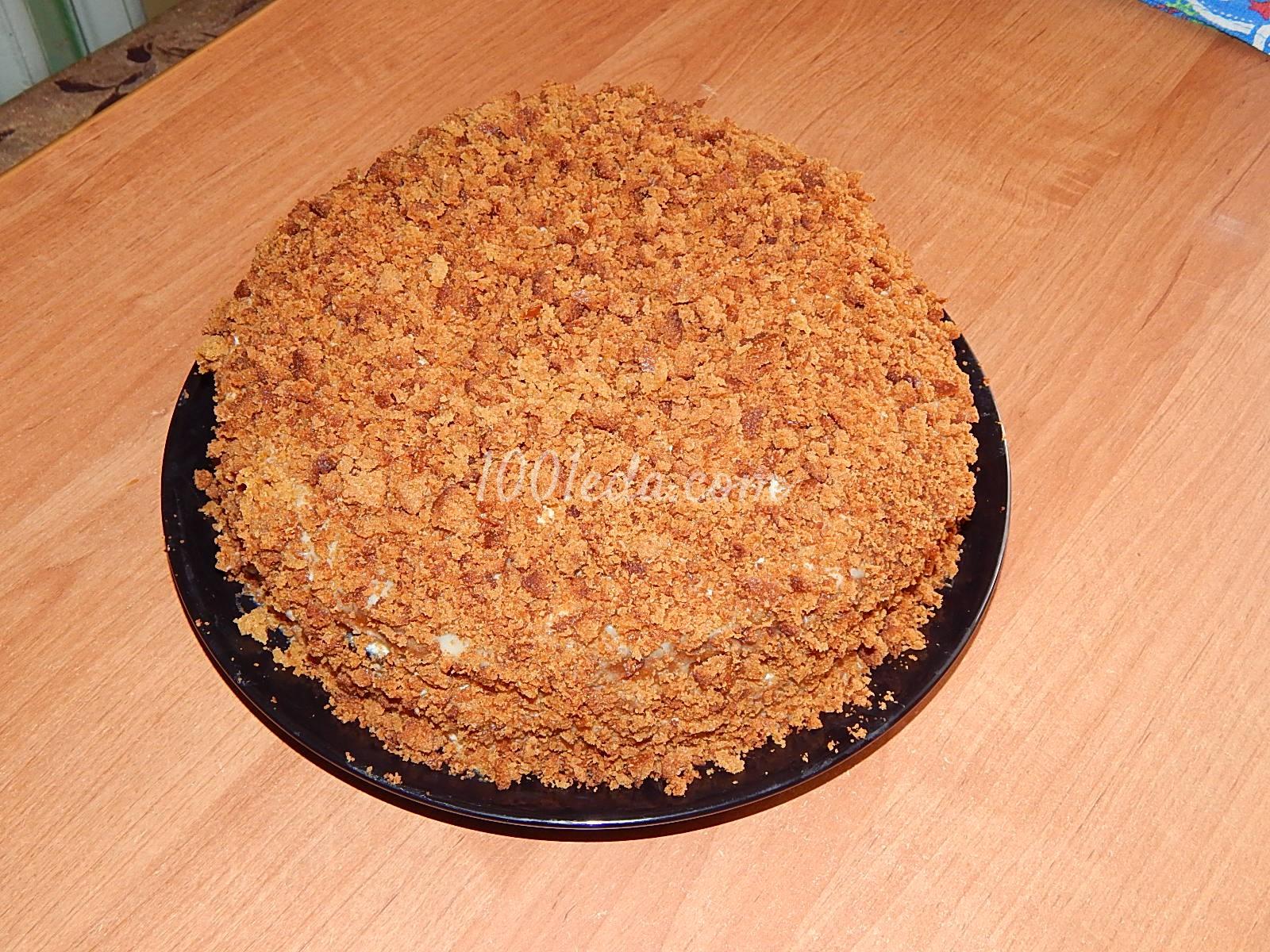 Простой рецепт торта медовик в домашних условиях