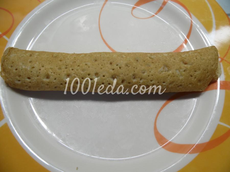 Блинная запеканка с грушами: рецепт с пошаговым фото - Шаг №4