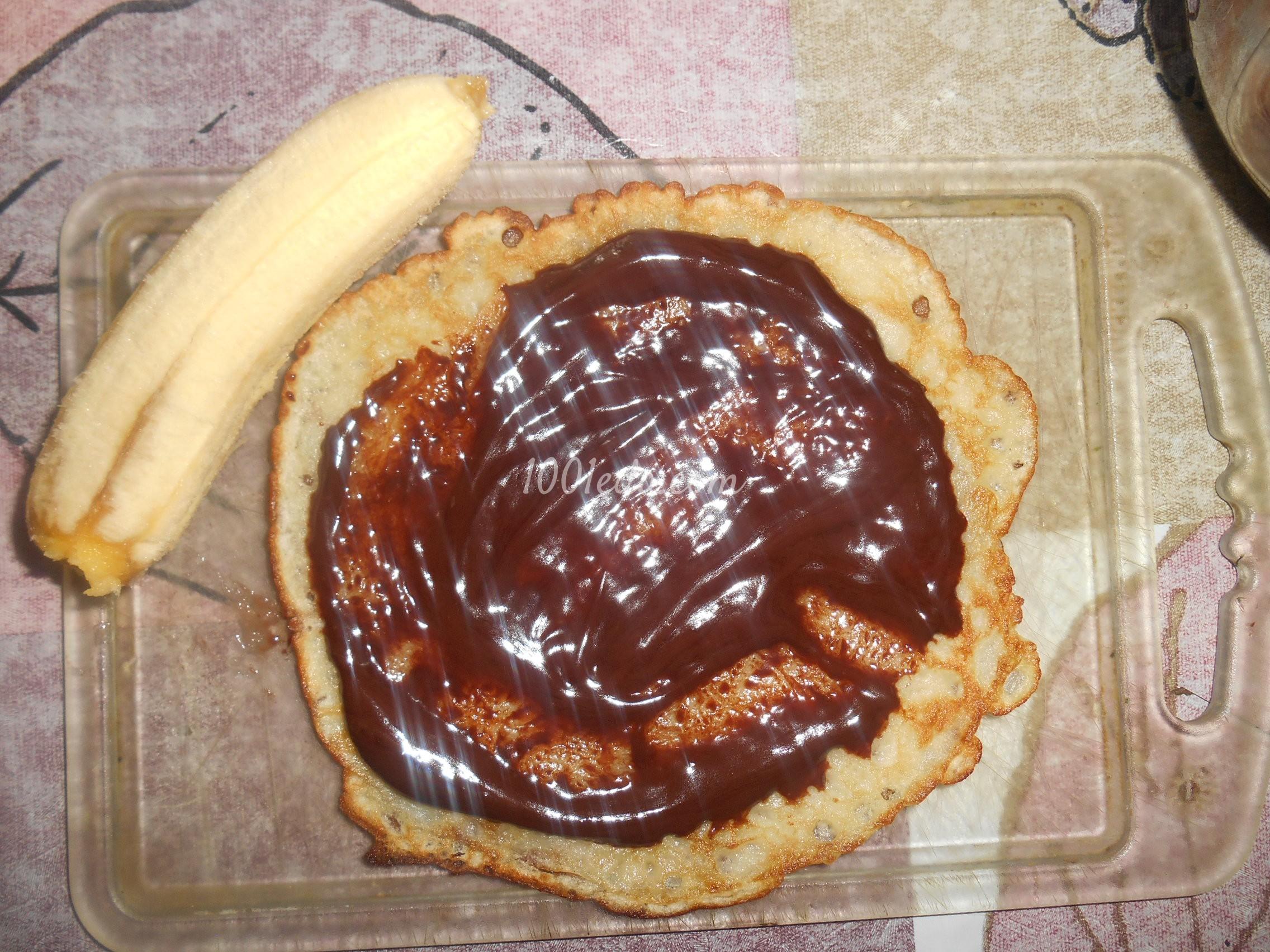 Рецепт блинов пошагово банановых