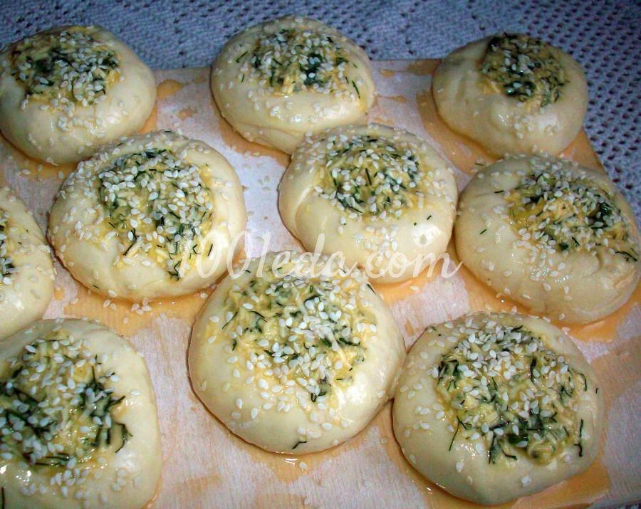 Как сделать булочки с сыром и майонезом