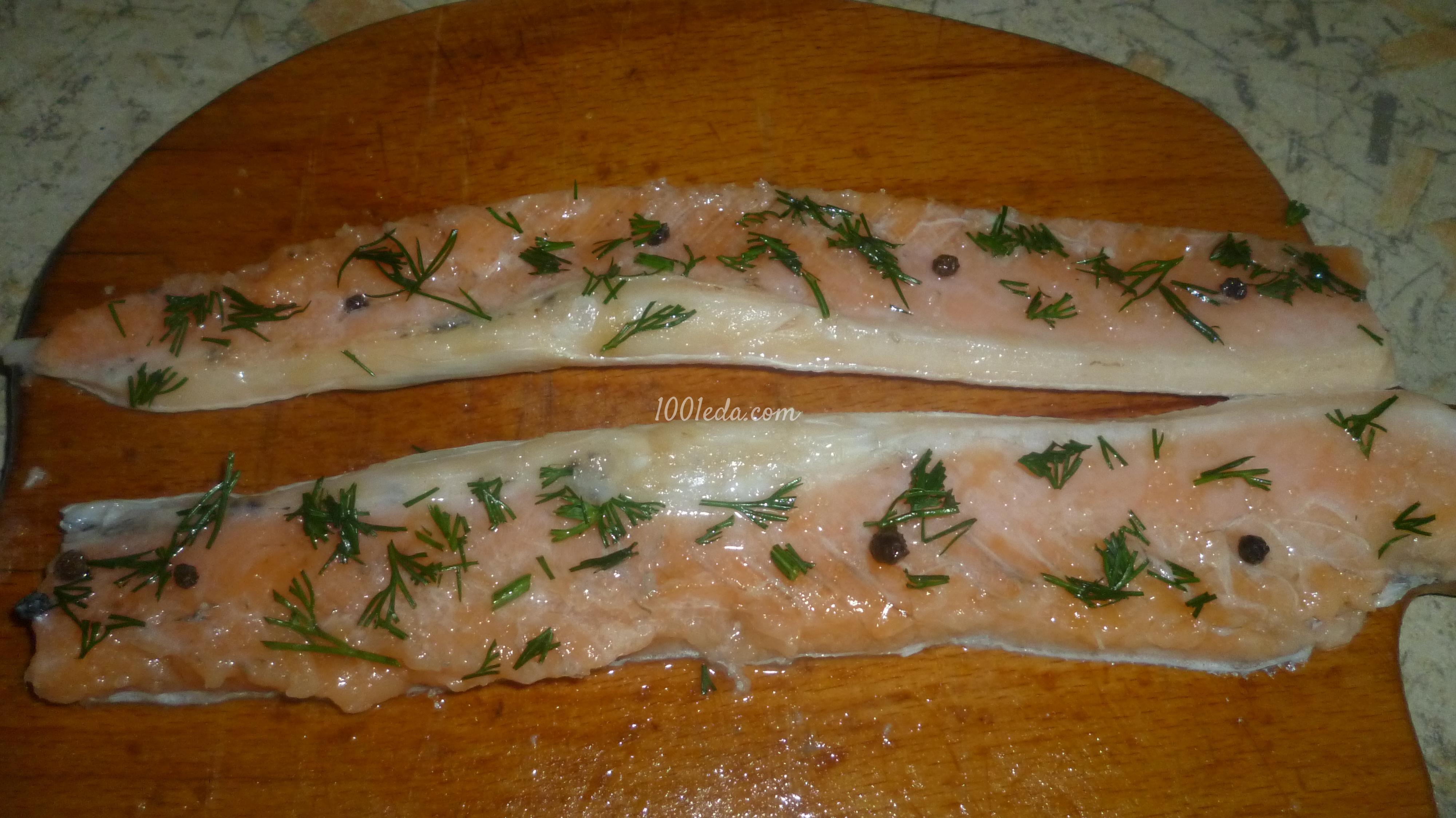 Рецепты слабосоленой рыбы пошагово