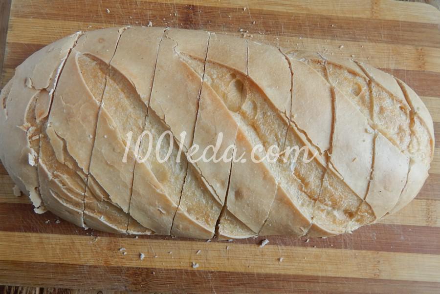 Быстрые бутерброды в духовке: пошаговое фото - Шаг №1