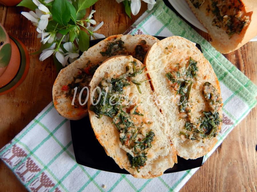 Быстрые бутерброды в духовке: пошаговое фото - Шаг №5