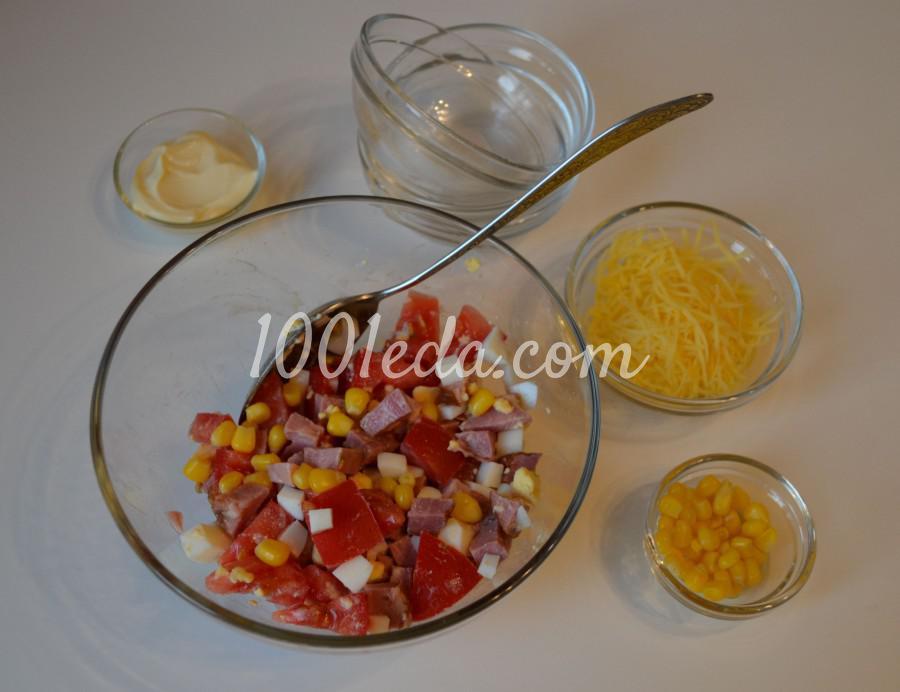 Быстрый и вкусный салат Сытный ужин: пошаговый с фото - Шаг №2