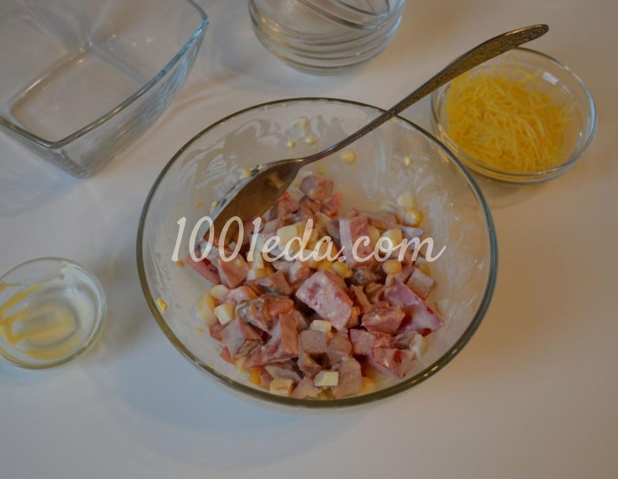 Быстрый и вкусный салат Сытный ужин: пошаговый с фото - Шаг №3