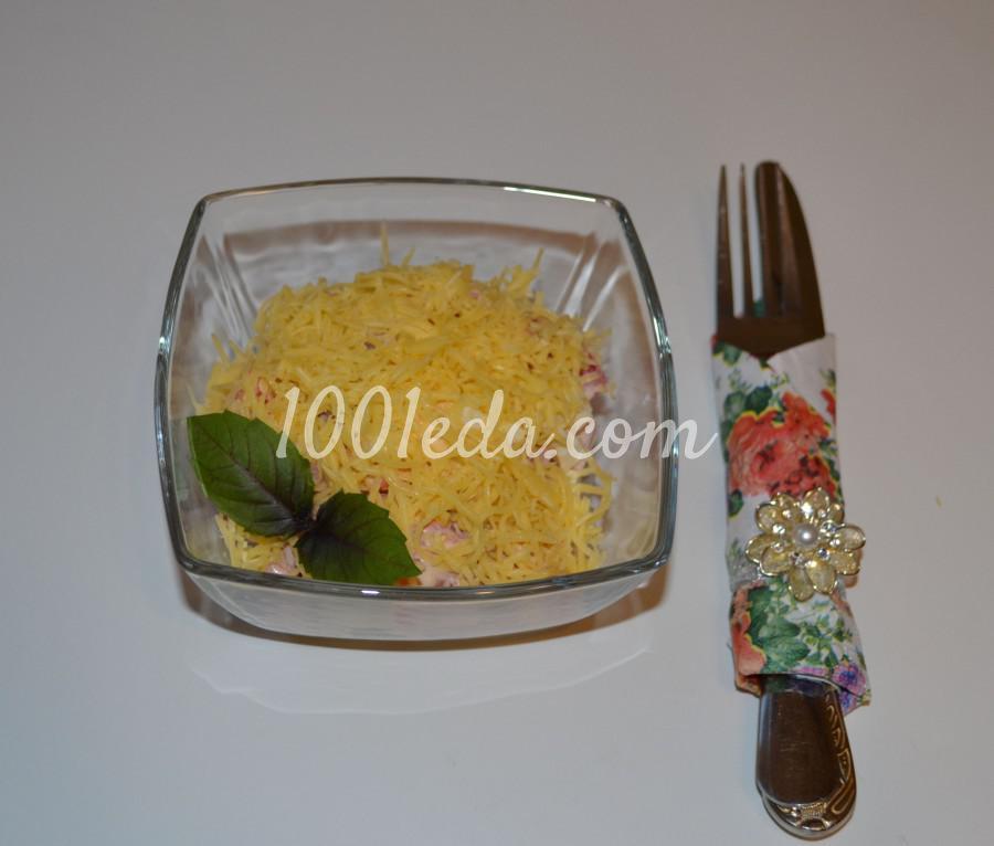 Быстрый и вкусный салат Сытный ужин: пошаговый с фото - Шаг №5