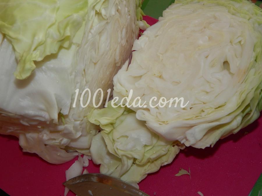 Быстрый капустный пирог: пошаговый с фото - Шаг №4
