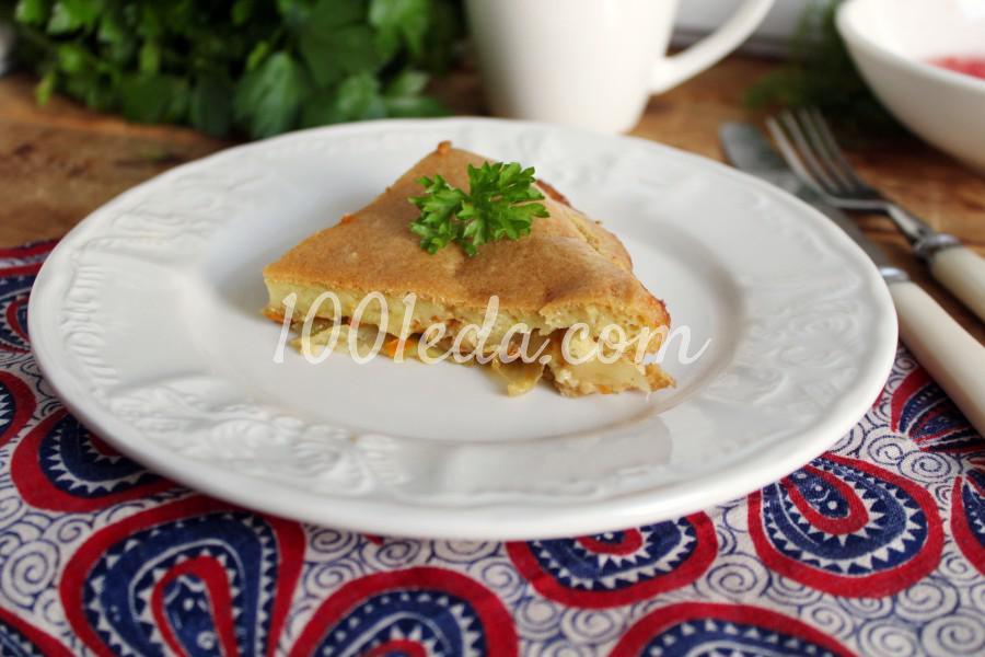 Быстрый капустный пирог: пошаговый с фото - Шаг №7