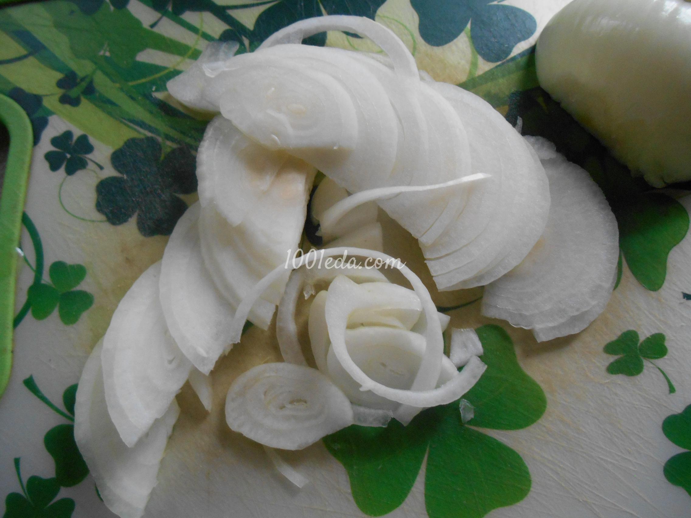маринованный лук рецепт с фото пошагово