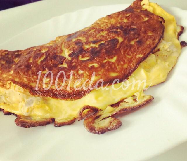 Быстрый завтрак бризоль с куриным филе и сыром