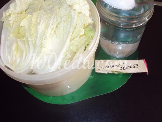 Чимча из пекинской капусты: пошаговый с фото - Шаг №1