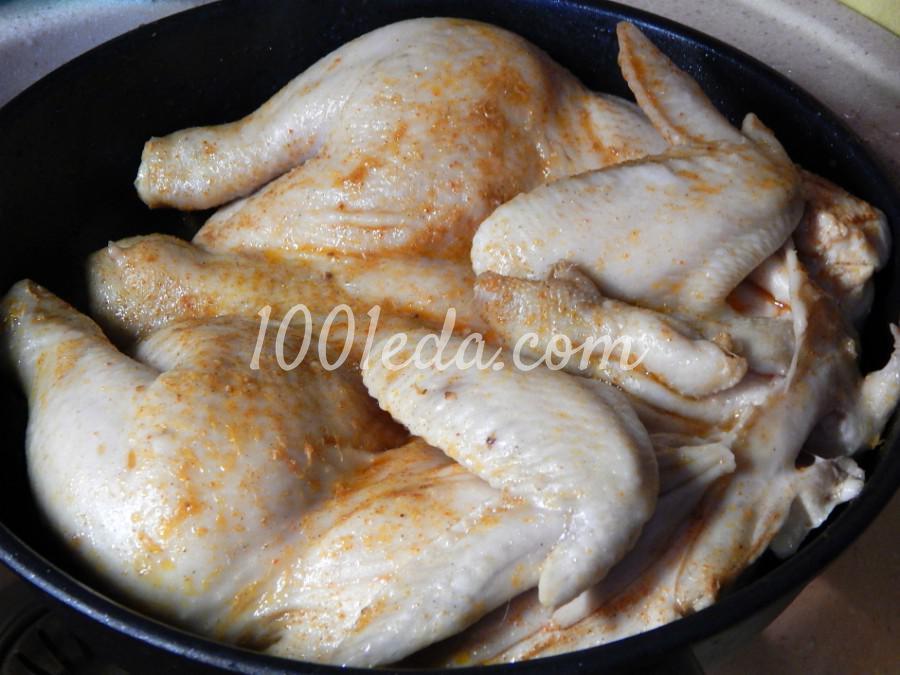 Цыпленок табака: пошаговое фото - Шаг №3