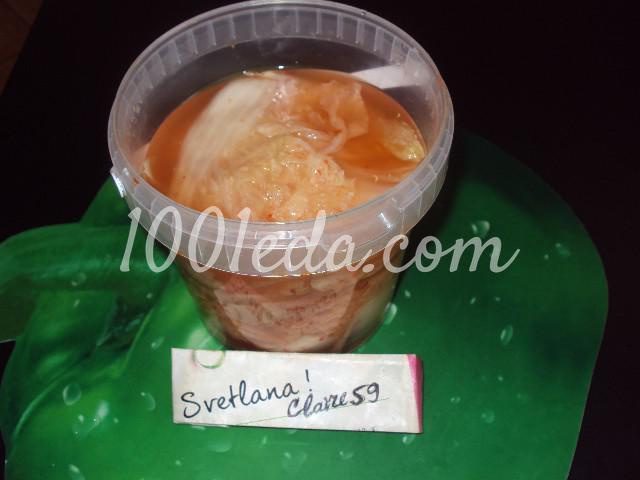 Чимча из пекинской капусты: пошаговый с фото