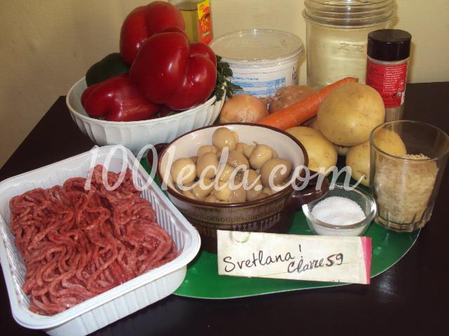 Фаршированные овощи: пошаговое фото