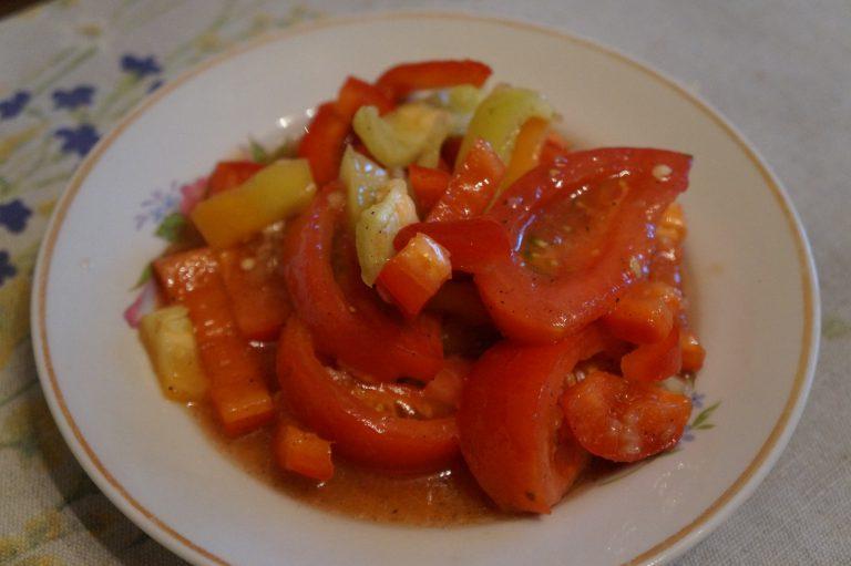 Салат болгарского перца фото