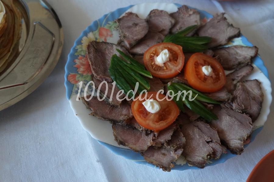Вкусное блюдо с горохом