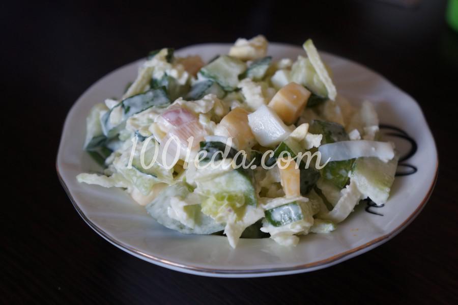 Салат с редькой для летнего вечера