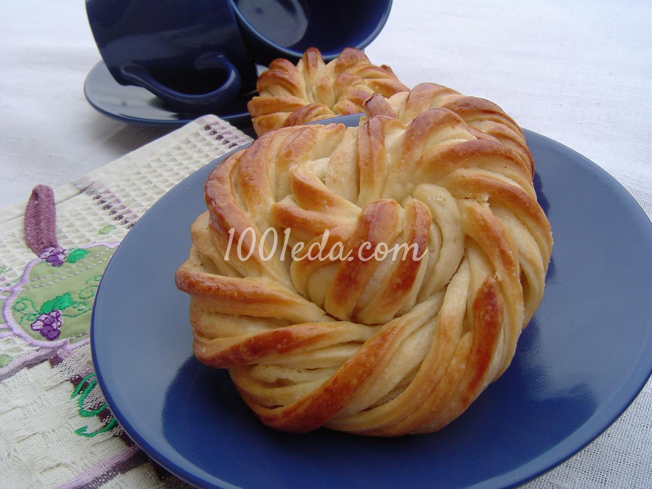 Рецепт булочек в домашних условиях пошагово