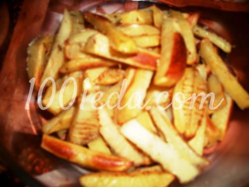 картошка в фри в духовке рецепт с фото пошагово