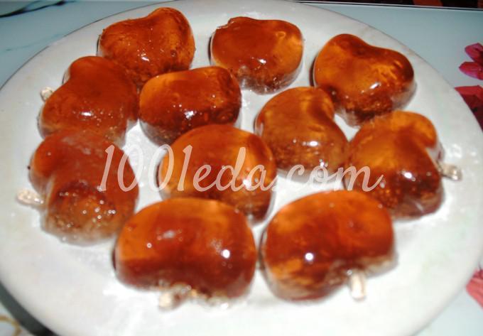 Домашние мармеладно-яблочные конфеты