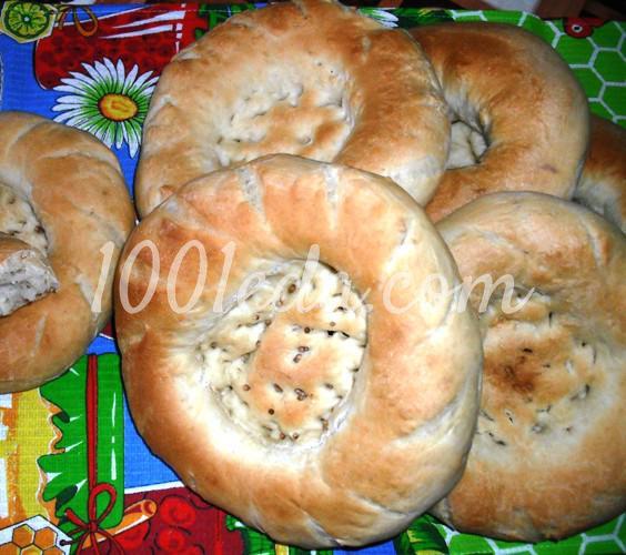 Узбекские лепешки оби-нон: рецепт с пошаговым фото