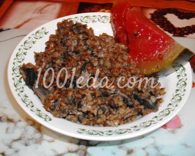 Постная гречневая каша с грибами в мультиварке: рецепт с пошаговым фото