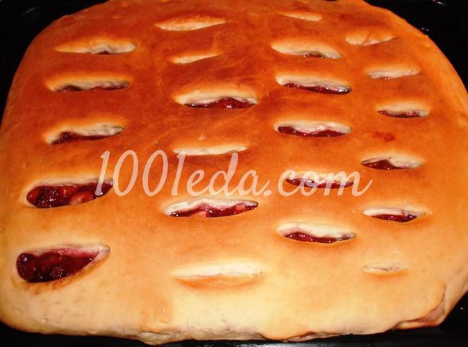Сладкий фруктовый пирог из постного теста: рецепт с пошаговым фото